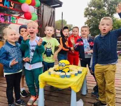 Сентябрь 2020, Детский день рождения Форт Боярд и Веселая Песочница!