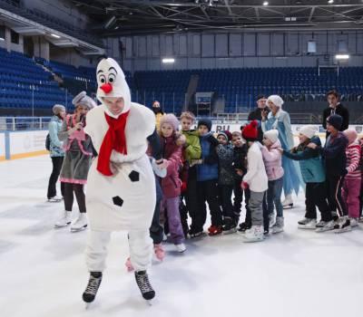 Декабрь 2019, Корпоративное ледовое катание